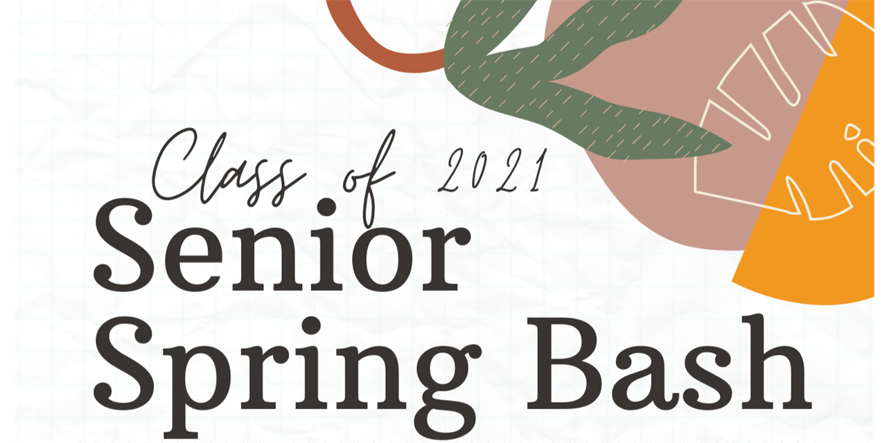 Senior Spring Bash Event Logo