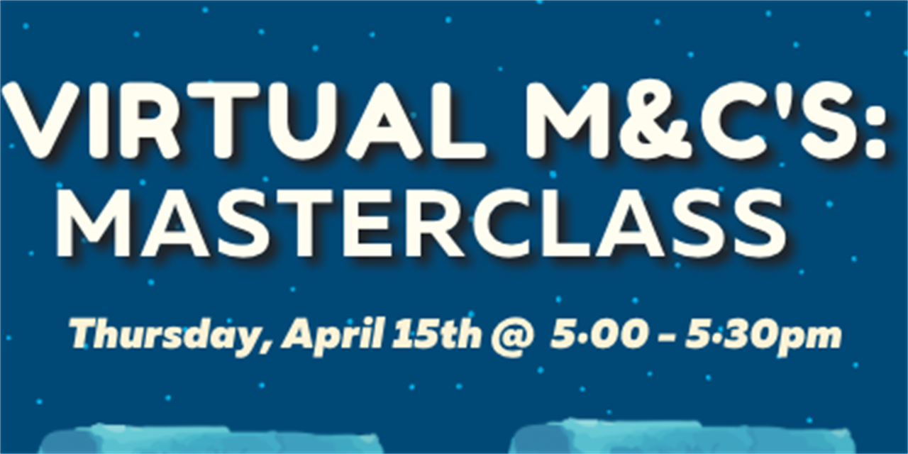 Community M&Cs: Non-Traditional Knitting Master Class Event Logo