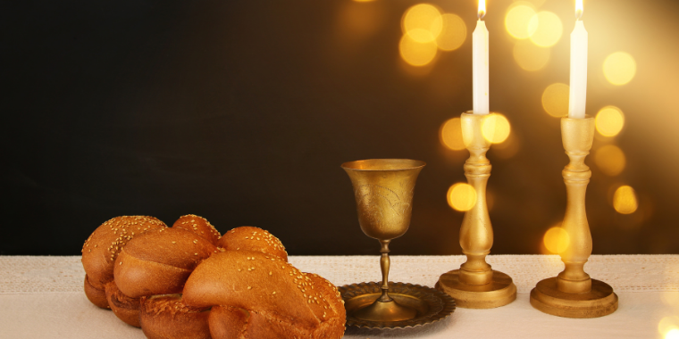 Seniors, Family, and Friends Shabbat Event Logo