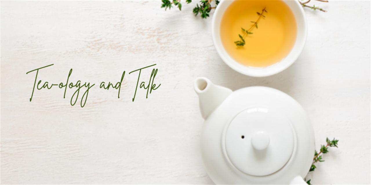 Tea-ology and Talk Event Logo
