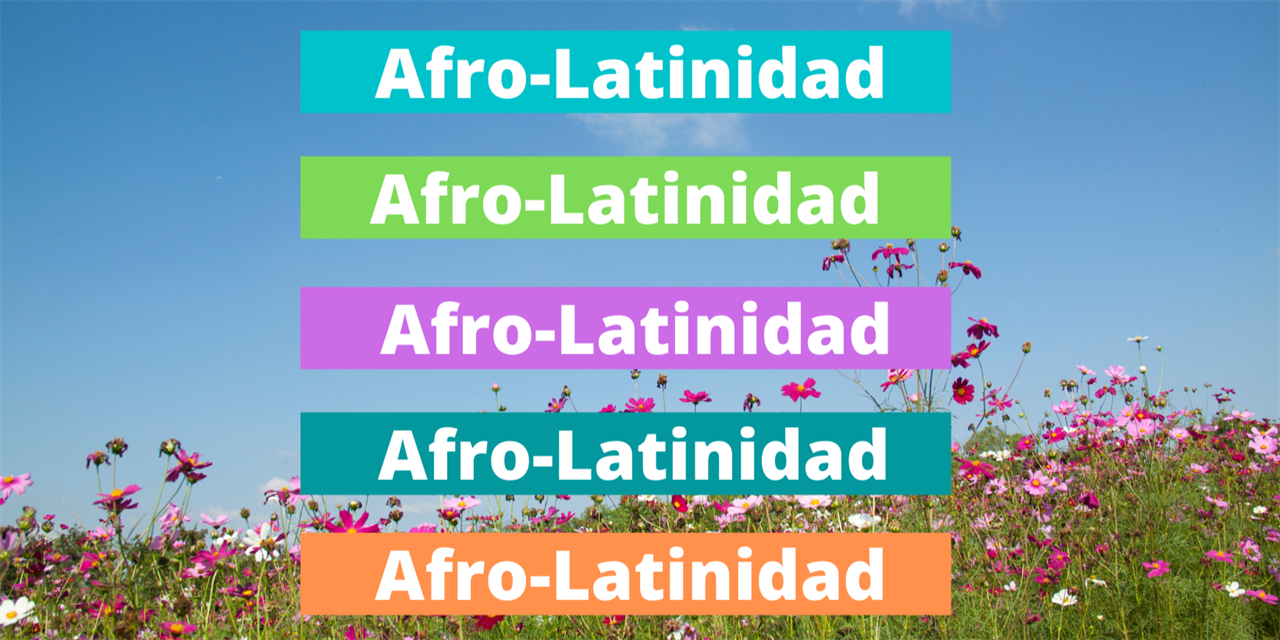 An introduction to Afro-Latinidad Event Logo