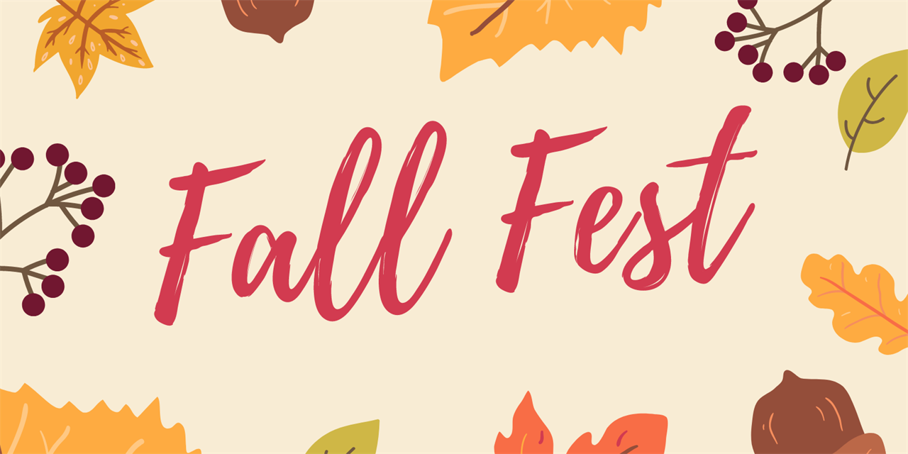 Fall Fest with the Division of Student Life Event Logo