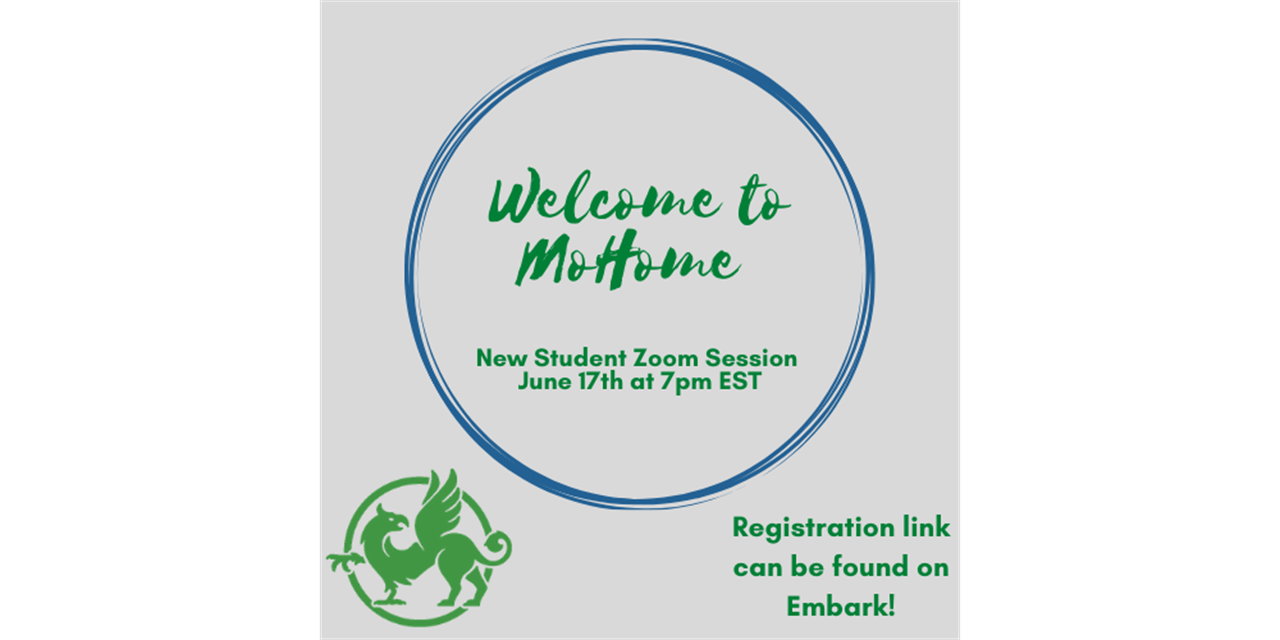 New Student Zoom Session- Welcome to Mount Holyoke! Event Logo