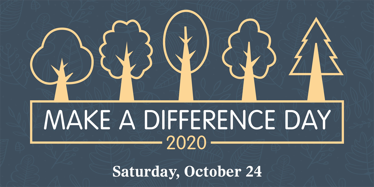 Make A Difference Day Event Logo
