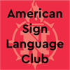 American Sign Language Club's logo