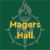 Magers Hall's logo