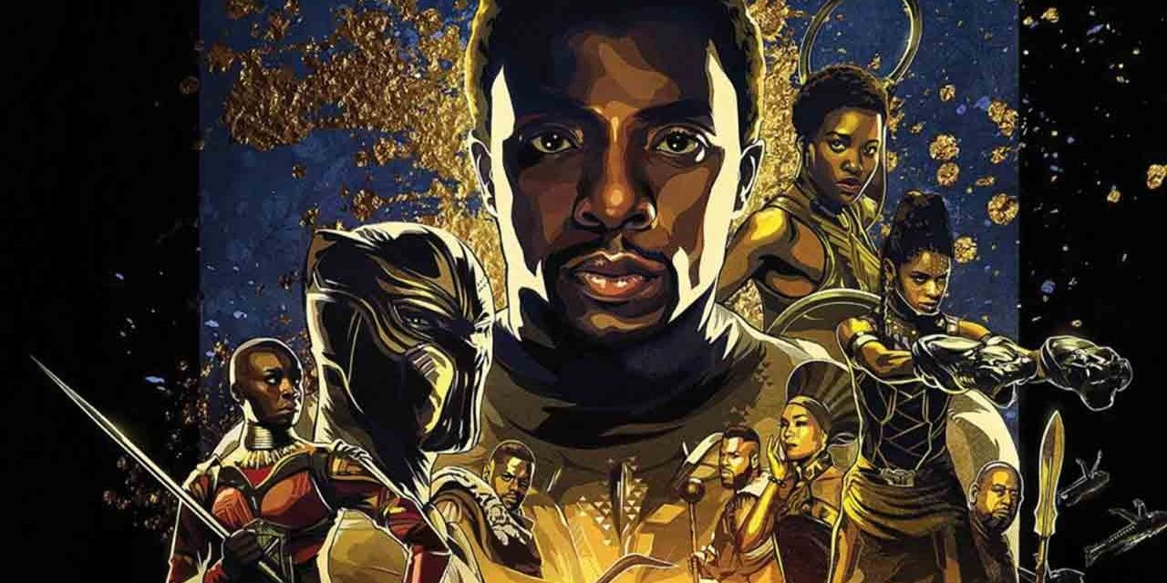 Virtual Skill Builder: Black Panther and Afrofuturism Event Logo