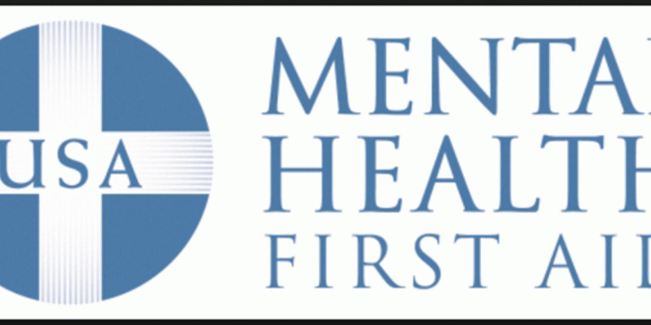 Mental Health First Aid Event Logo