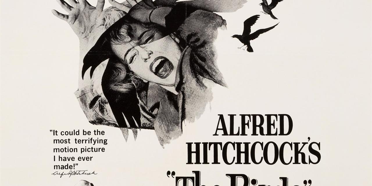 The Birds (1963); Dir. Alfred Hitchcock Event Logo