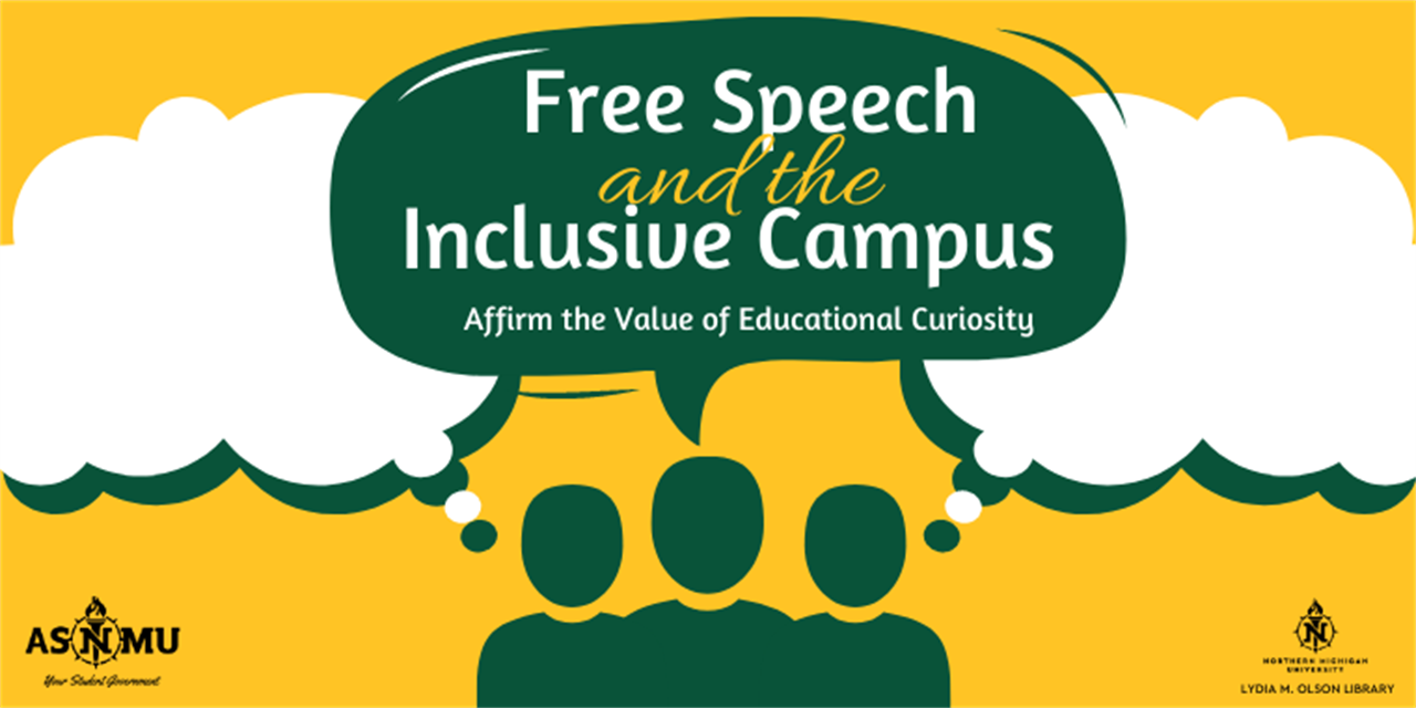Free Speech & the Inclusive Campus Event Logo