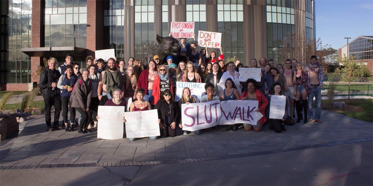 Slut Walk Event Logo