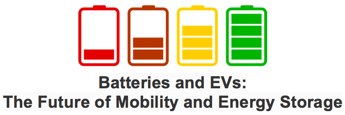Batteries and EVs: The Future of Mobility and Energy Storage