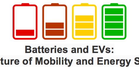 Batteries and EVs: The Future of Mobility and Energy Storage Event Logo