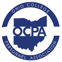 OCPA- Ohio College Personnel Association Logo Image.