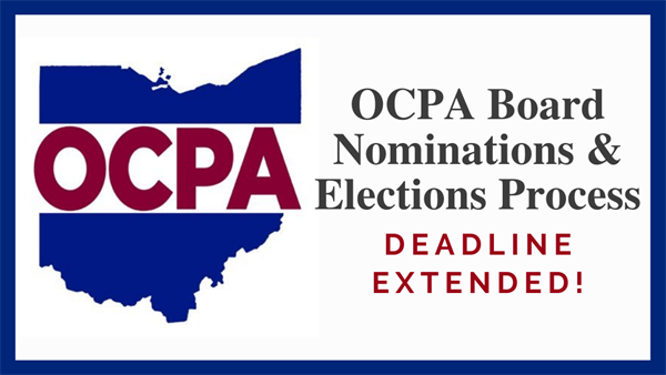 OCPA Election/ Nomination Deadlines Extended