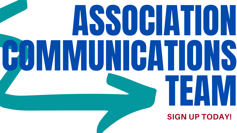 Association Communications Team graphic