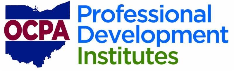 OCPA Professional Development Institutes Logo