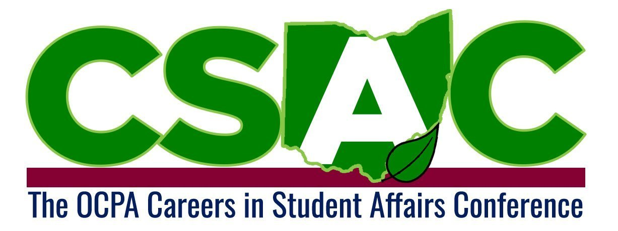 Careers in Student Affairs Conference logo (Green tesxt