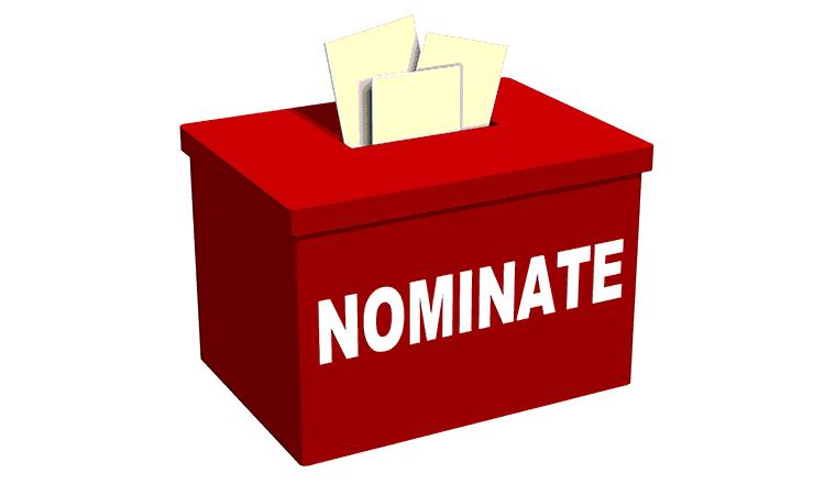 Nominate ballot box