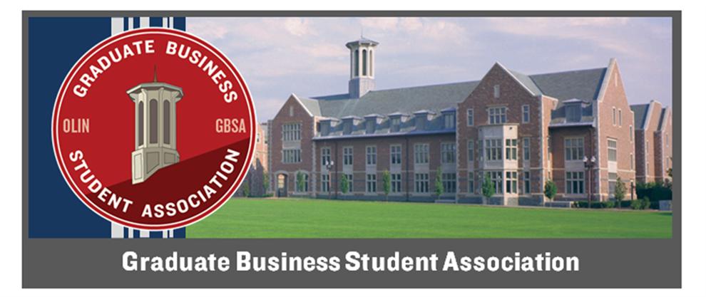 Graduate Business Student Association | Olin Business School at Washington University in St. Louis