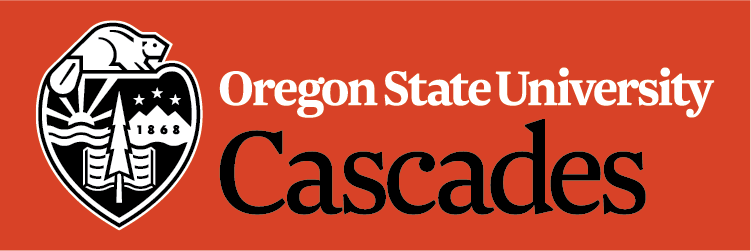 Oregon State University-Cascades Logo Image.