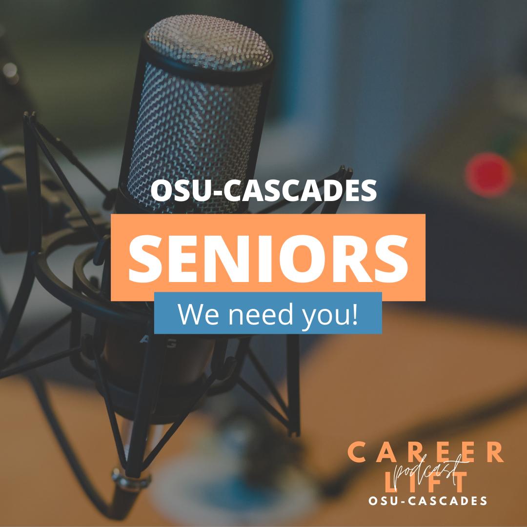 Seniors Needed for Podcast Spotlights