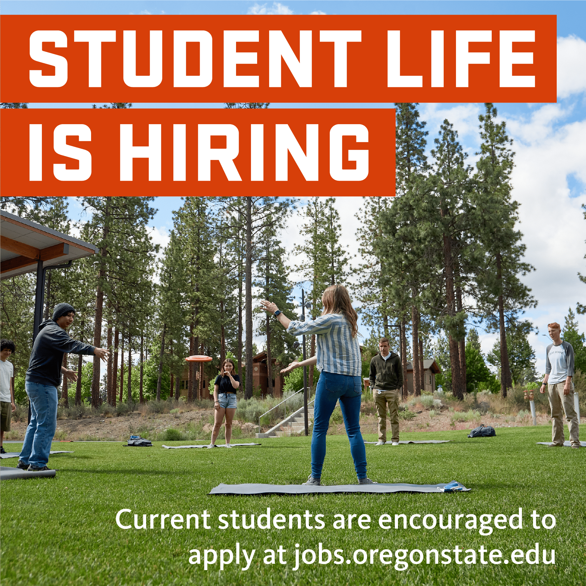 Student Life is Hiring