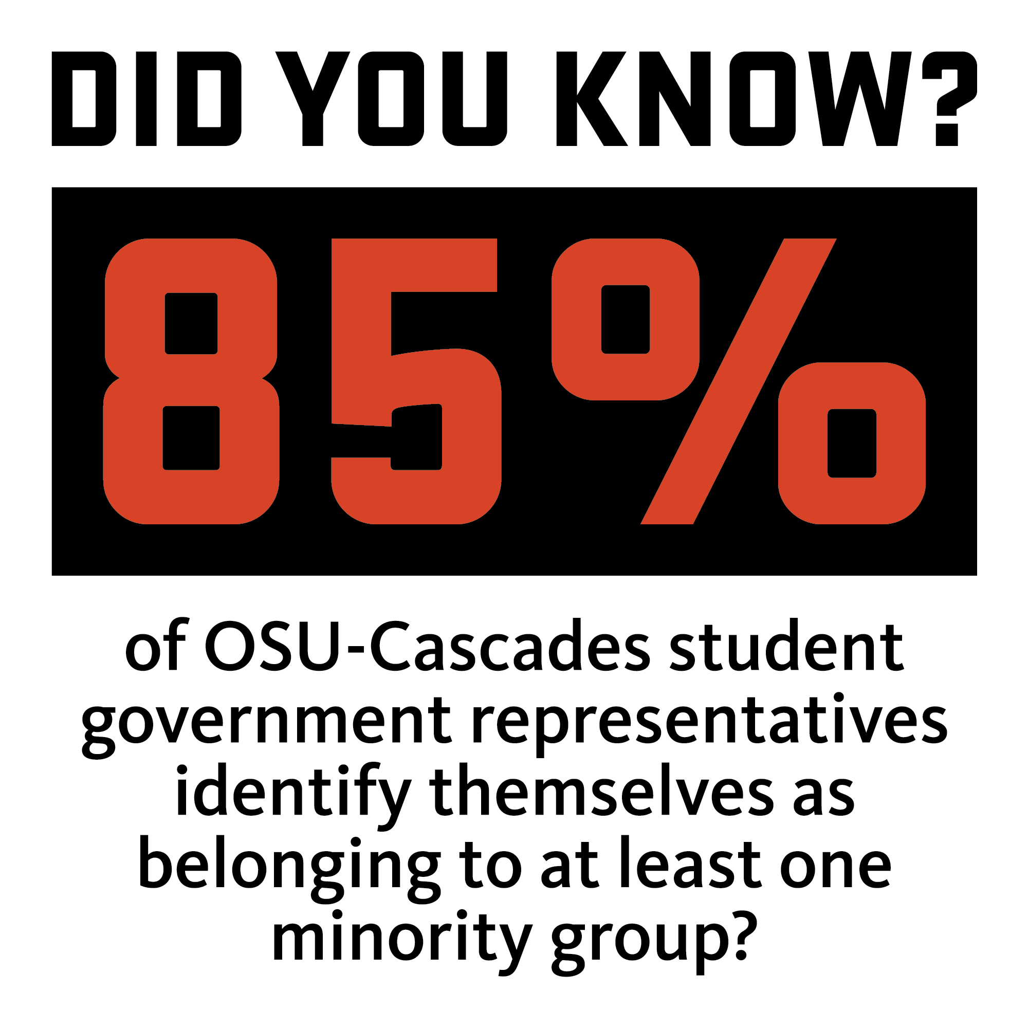 Student Gov't Survey Shows Diversity