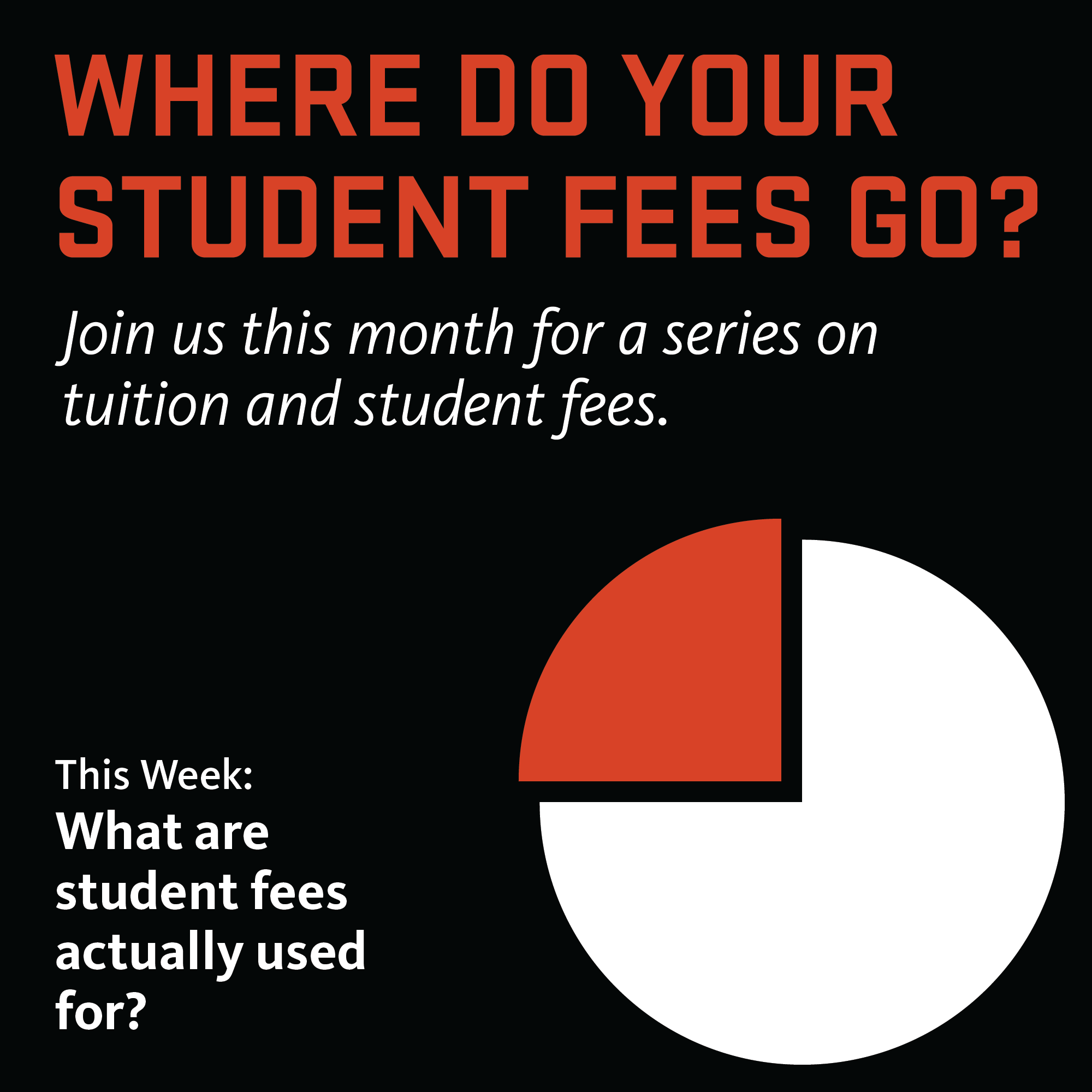 What Are Your Student Fees Used For?
