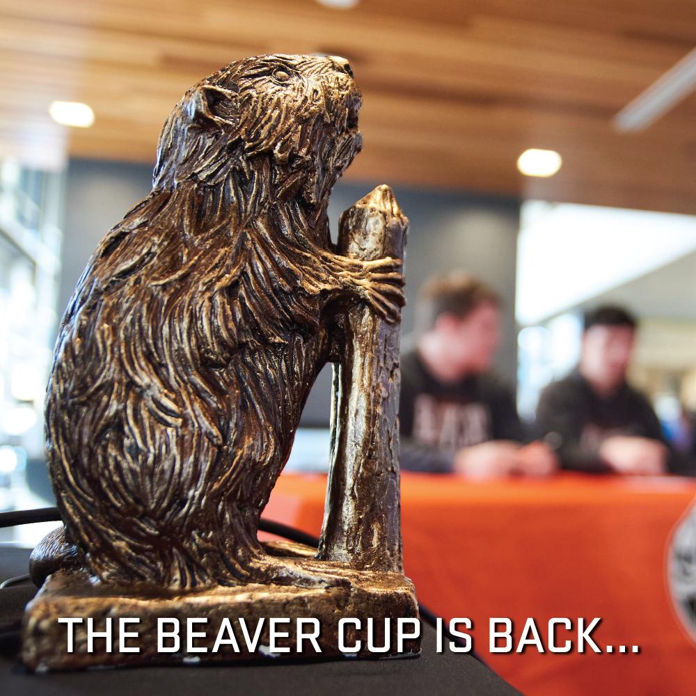 Beaver Cup This Week!