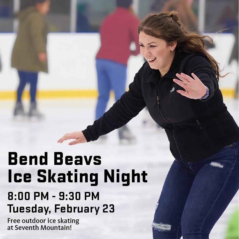 Bend Beavs Ice Skating Night