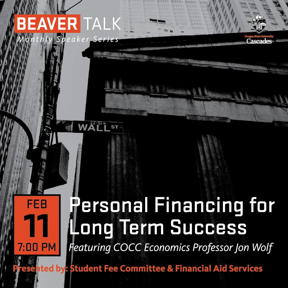 Beaver Talk Starts This Week!