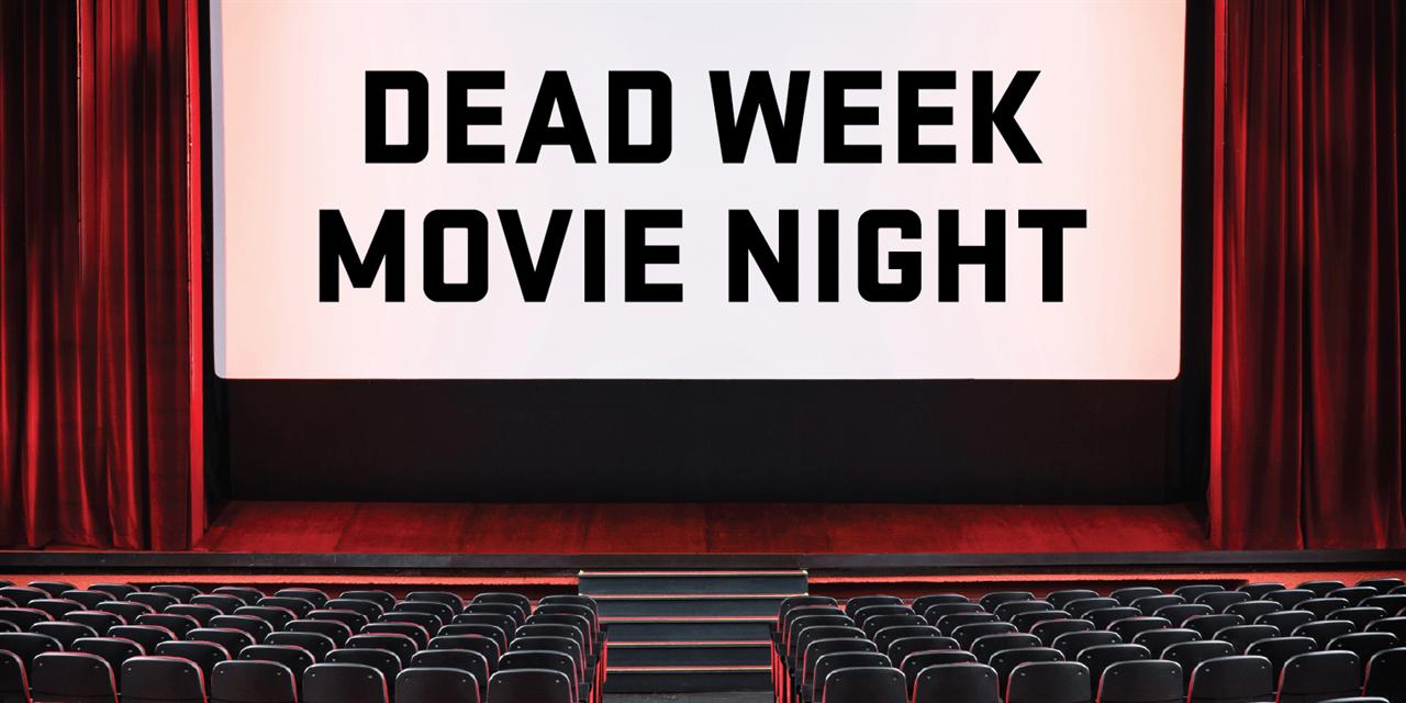 Dead Week Movie Night Event Logo