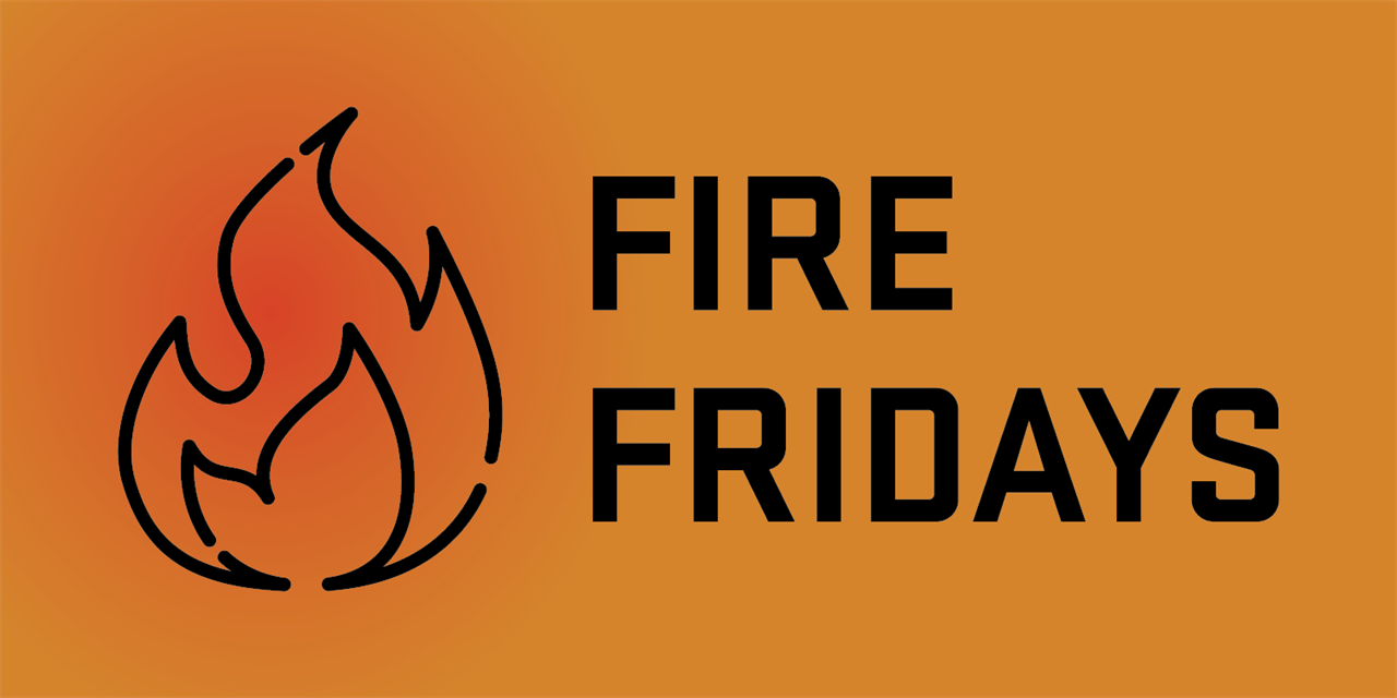 Fire Fridays: May 21 Event Logo