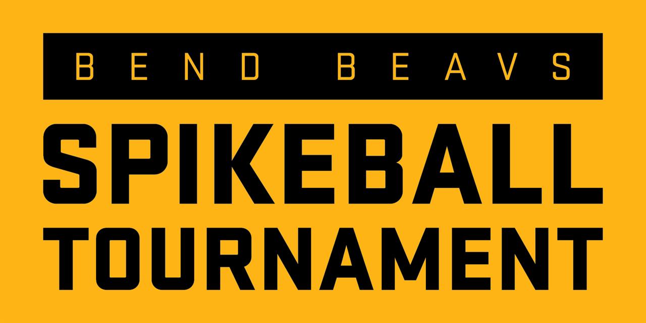 Bend Beavs Spikeball Tournament Event Logo