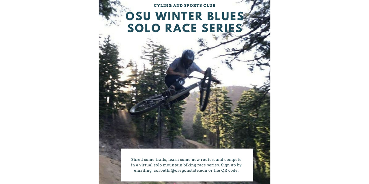 OSU Winter Blues Solo Race Series Event Logo