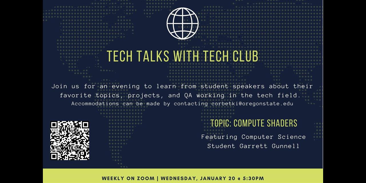 Tech Talks with Tech Club of Cascades Event Logo