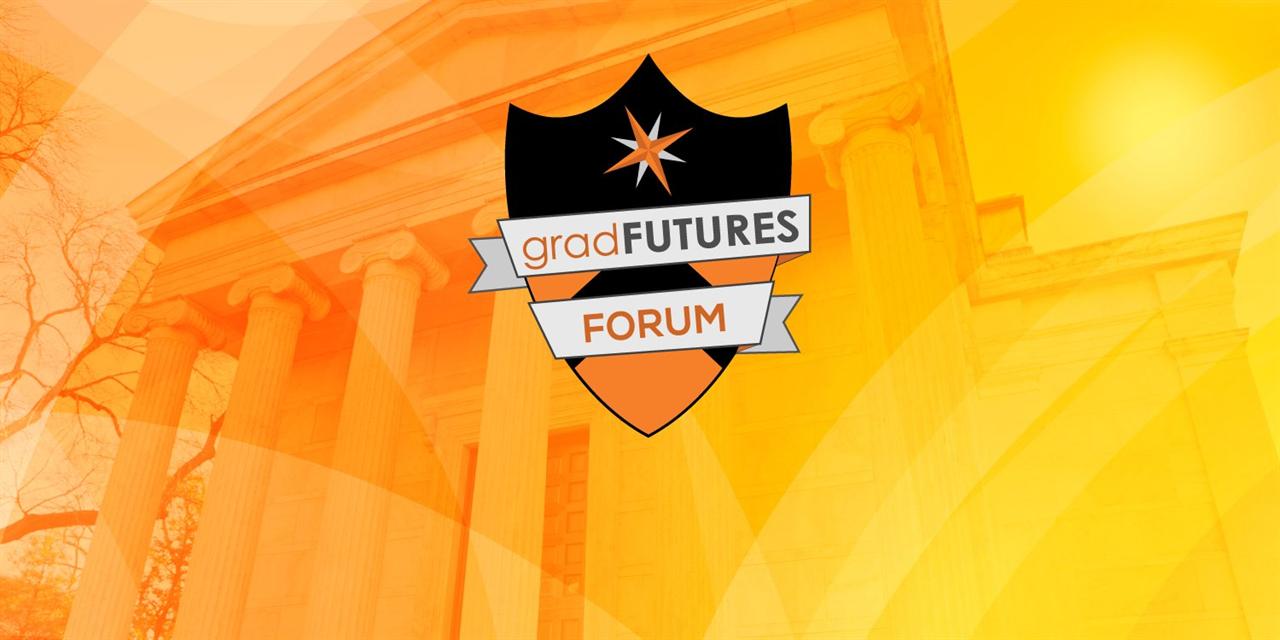 GradFUTURES Forum: The Imperative of Graduate Student Professional Development & the GradFUTURES Initiative Event Logo