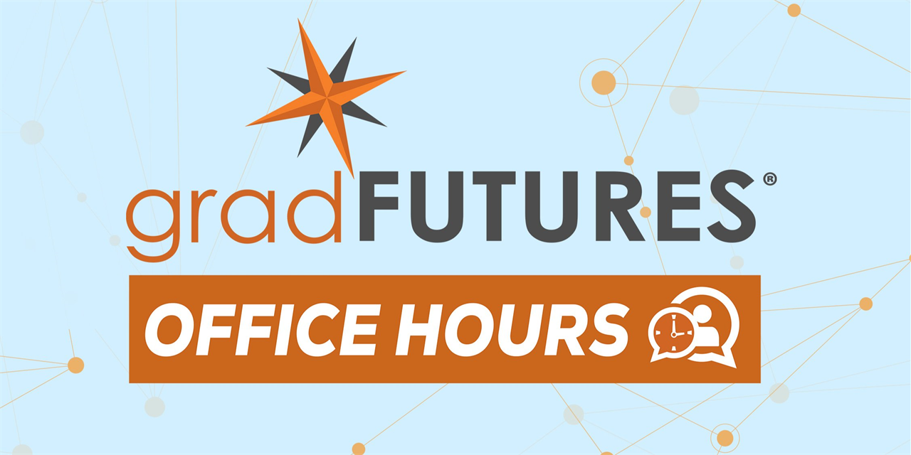 Office Hours for Natural Sciences and Engineering Graduate Students Event Logo
