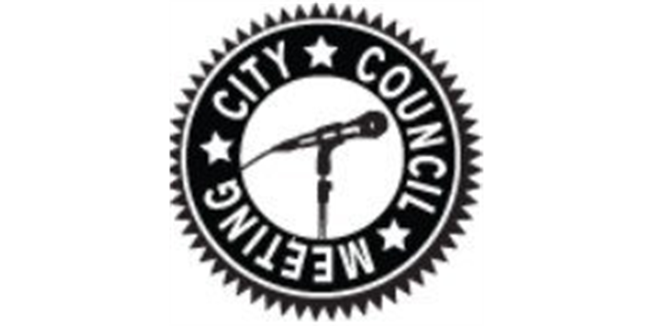 Democracy Theater--City Council Meeting Event Logo
