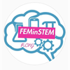 Females in S.T.E.M. Society's logo