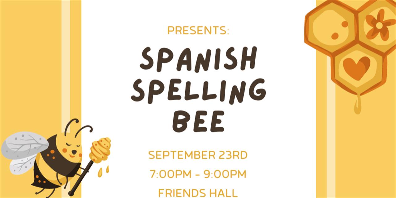 Spanish Spelling Bee Event Logo