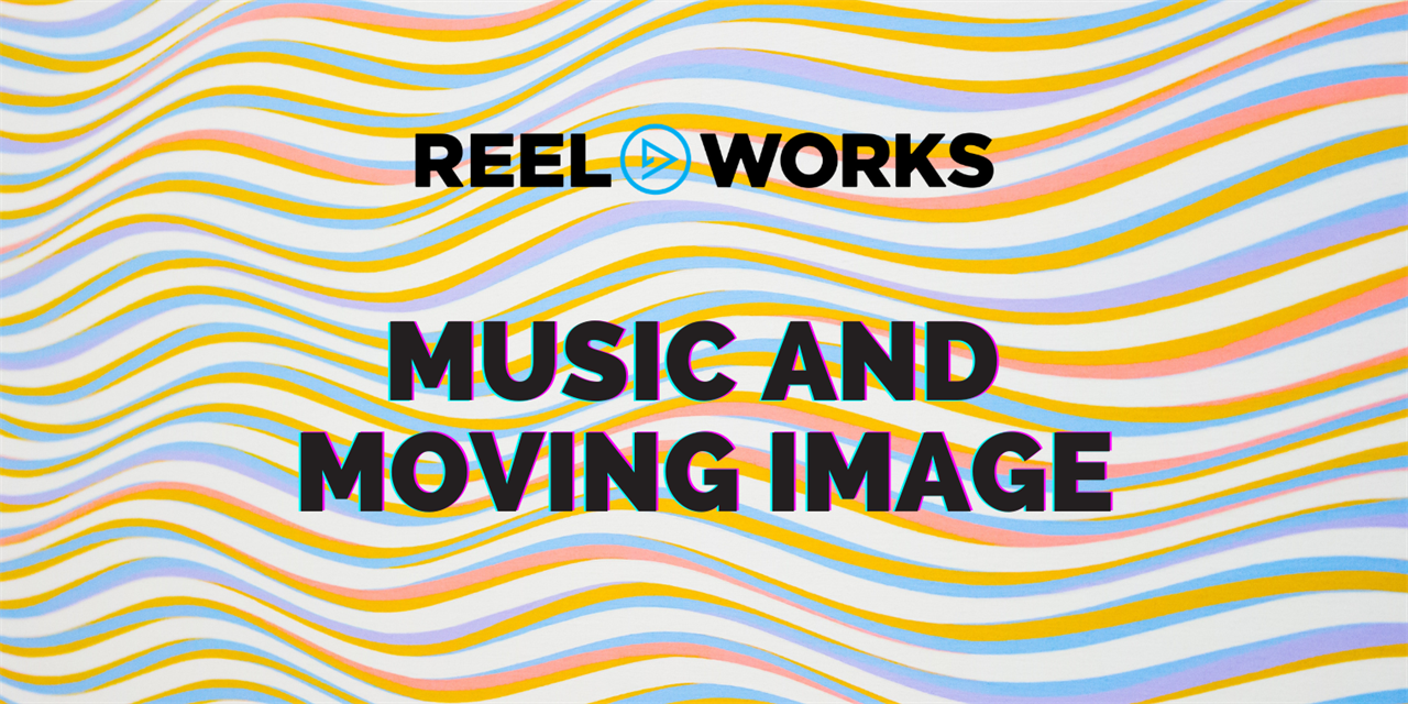 Music and Moving Image Event Logo