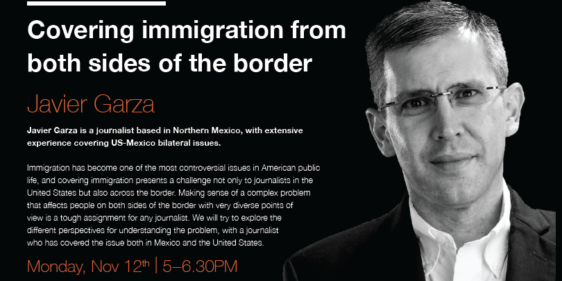 Covering Immigration From Both Sides of the Border Event Logo