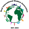 Deaf International Student Association's logo