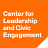 Center for Leadership and Civic Engagement's logo