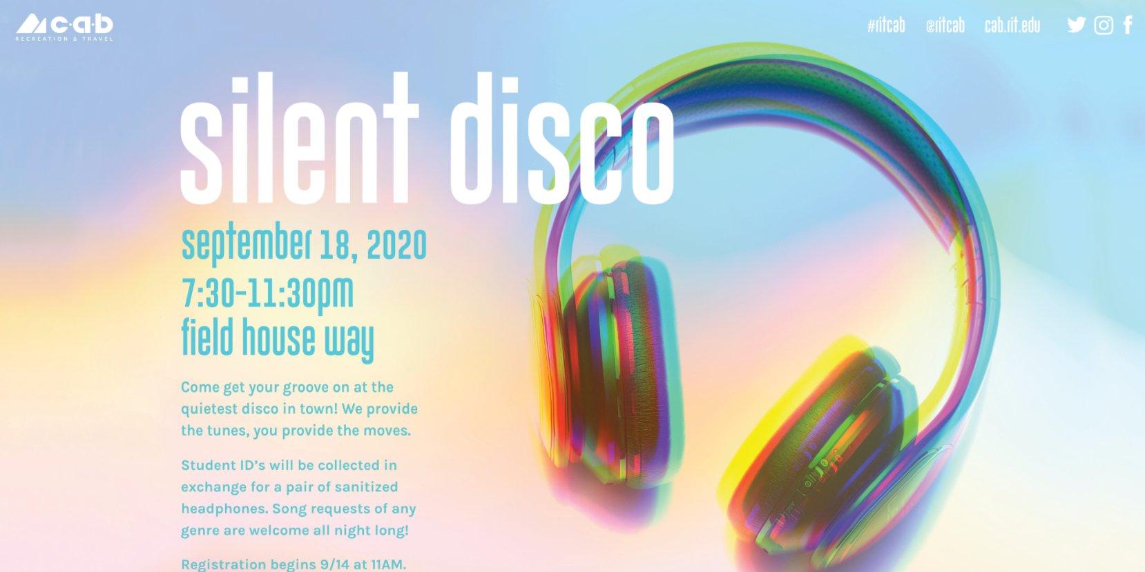 CAB Recreation & Travel & Virtual Presents: Silent Disco