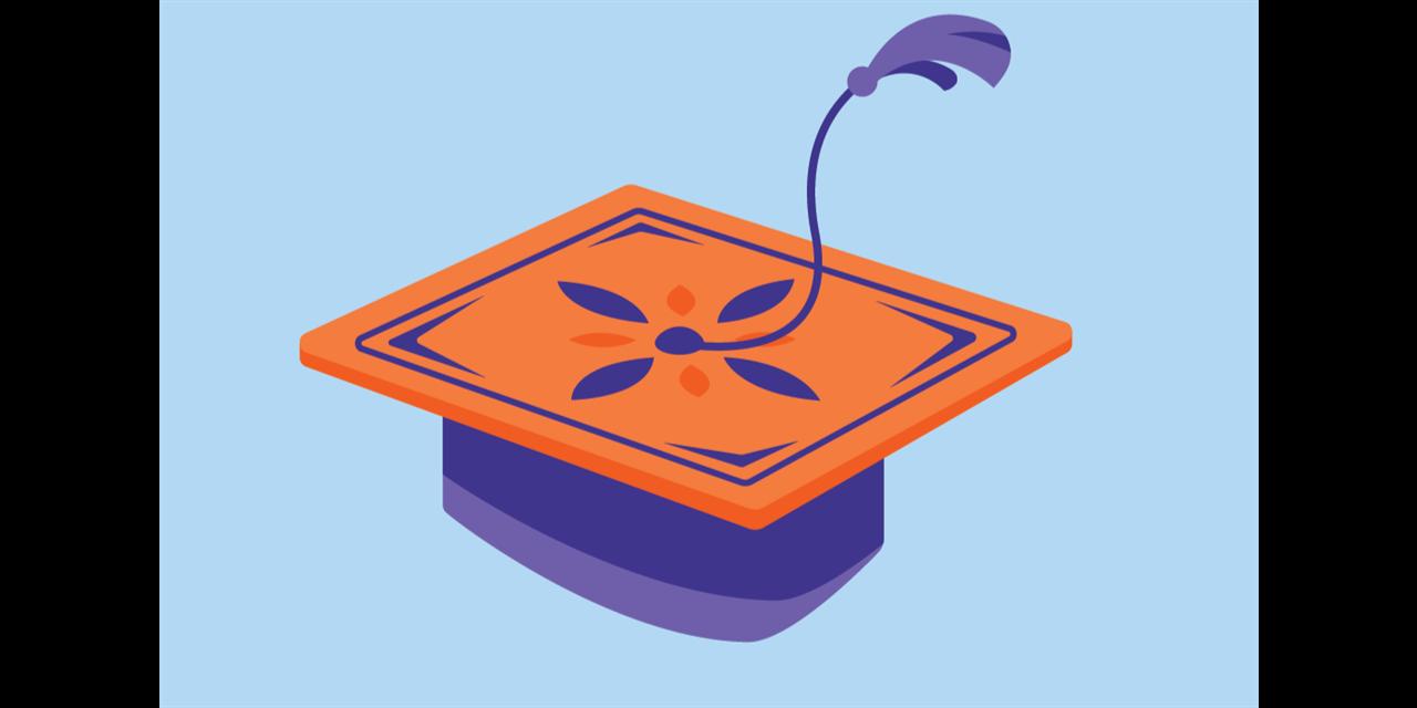 CAB Grad Palooza: Cap Decorating Event Logo