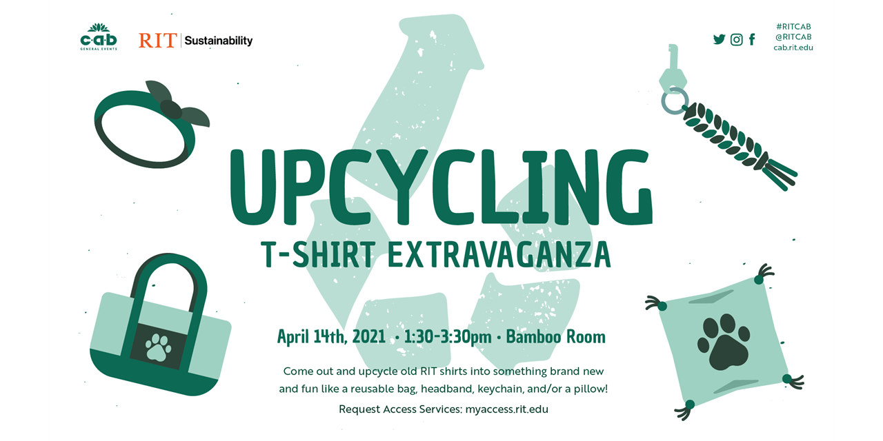 Upcycling T-Shirt Extravaganza Event Logo