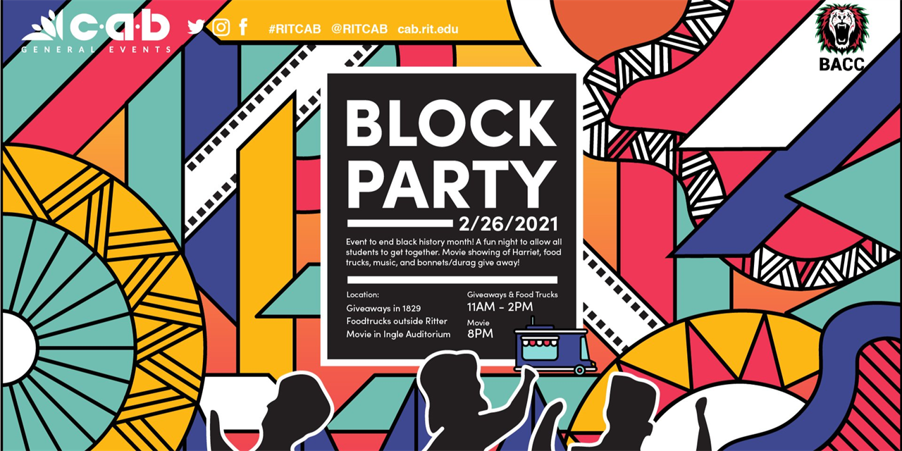 CAB General Presents: CAB x BACC Block Party Event Logo